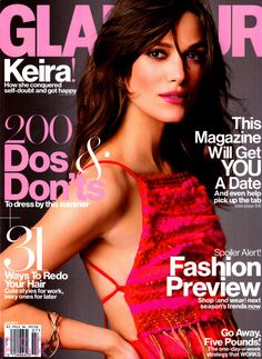 Keira Knightley by Tom Munro for Glamour US July 2014
