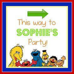 Sesame Street Birthday Party - Night Owl Corner