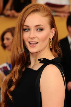 Sophie Turner attends the 21st Annual Screen Actors Guild Awards at The Shrine Auditorium on January 25, 2015 in Los Angeles, California.