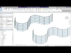Revit Tips - Curved Curtain Wall - YouTube