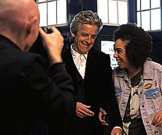 Pearl Mackie's First Day On Set