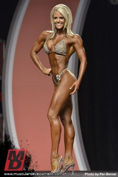 Nicole Wilkins 2012 Olympia judging