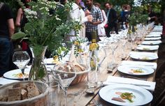 Sustainable wedding catering