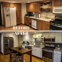 "✔ best kitchen remodel ideas that everyone need for inspiration 62 > Fieltro.Net""> ✔ best kitchen remodel ideas that everyone need for inspiration 62 > Fieltro. Kitchen Redo, Home Decor Kitchen, Interior Design Kitchen, Kitchen Dining, Refinished Kitchen Cabinets, Updating Cabinets, Kitchen Mats, Updated Kitchen, Cool Kitchens"