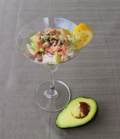 Smoked Tuna Cocktail by Carole's Chatter