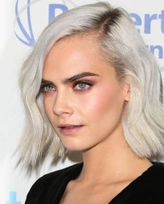 Fashion Model Cara Delevingne attends the 4th annual unite4humanity gala at the Beverly Wilshire Four Seasons Hotel on April 7 2017 in Beverly Hills...