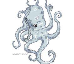 An Ancient Octopus Design | Art Blog by Naked Eye Studio