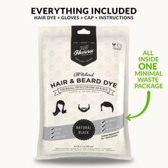 Natural Black Henna Hair Dye – Henna Color Lab® – Henna Hair Dye