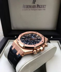 Audemars Piguet Royal Oak Chronograph 26320 find that perfect wrist watch here today! Men's Watches, Cool Watches, Fashion Watches, Audemars Piguet Watches, Audemars Piguet Royal Oak, Patek Philippe, Men's Accessories, Hand Watch, Bracelets