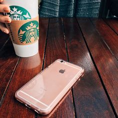 Rose Smoke Hybrid Case for iPhone 6 / 6s / 6 Plus and 6s Plus. The perfect match for the Rose Gold iPhone 6s.