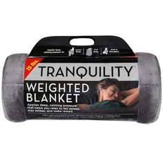 Get the comfort you've been searching for, thanks to this Tranquility weighted blanket. Kohls Bedding, Christmas Gift Exchange, Blankets For Sale, Trouble Sleeping, Bag Icon, Ebay Search, Weighted Blanket, Bh Cosmetics, Spot Cleaner