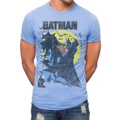 The fierceness is all in the cape with the Batman Mcfarlane Art T-Shirt.  If this 50% Cotton / 50% Polyester shirt doesn't satisfy the comic geek in you then the comic geek in you simply can't be satisfied. First, we have the Dark Knight, and that in itself is awesome, but this isn't just any Batm