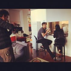 Filming Wilson Tang's episode in downtown @dimsumnyc #YourStoryMySong #WeeWan #NomWahTeaParlor #Entrepreneur #Inspiration