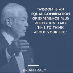 Wisdom is an equal combination of experience #Experience #Reflection #Wisdom