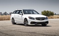 2014 Mercedes Benz AMG S Model Wagon front three quarters 02 My Dream Car, Dream Cars, E63 Amg S, Mercedes Benz E63 Amg, Full Size Sedan, Benz E Class, American Muscle Cars, Back Seat, Car Photos