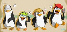 Penguins of YouTube by IvaTheHuman.deviantart.com on @DeviantArt. love how Jack is private