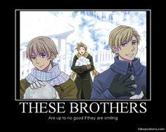 Nordic Brothers by BrynhildTheValkyrie.deviantart.com