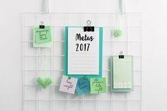 Se você ainda não elaborou a sua lista de metas e objetivos para 2017 ou já fez mas ainda não conseguiu colocá-las em prática, você vai amar essas dicas. Separei as metas em 5 pilares de organização e dei 3 dicas de como alcançá-las! (clique na imagem)