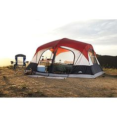 Northwest Territory Family Cabin 8-Person Tent - 14ft x 14ft : Sears Outlet