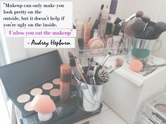 #Makeup can enhance your external #beauty, but your true self can only shine naturally