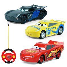 Cars 3 New Mcqueen Jackson Cruz  Remote Control  Toys RC Cars for Boys   No Box #CarConstruction
