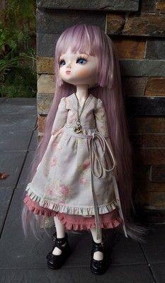 1/4 BJD Leeke Art Body Dress set (3pcs)