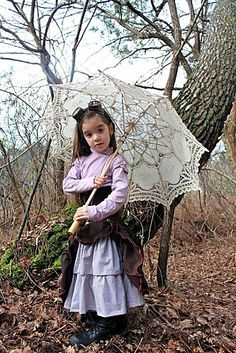 A steampunk child
