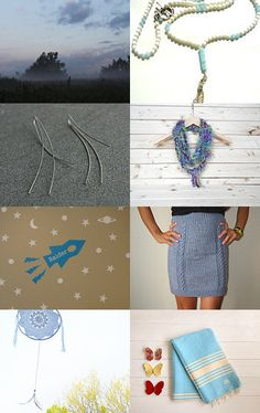 BLUE by SophieRR on Etsy--Pinned with TreasuryPin.com