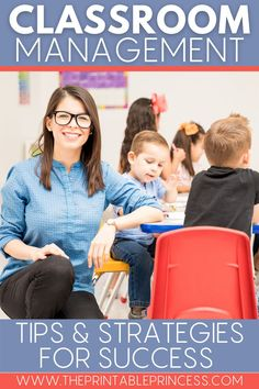 Set your students up for learning success in a positive environment and learn how to set clear expectations and handle behaviors in an effective way with these classroom management tips and strategies. #classroommanagement #teachertips #teachingstrategies #teacherlife