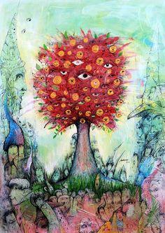 Miroslav Knap: Raj fantázie a labyrint snov, Fotogaléria Painting, Art, Art Background, Painting Art, Kunst, Paintings, Performing Arts, Draw