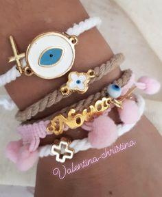 Πρωτότυπα μαρτυρικά βάπτισης by valentina-christina handmade products 2105157506,χειροποίητα μαρτυρικά βάπτισης μαμά,νονά Charmed, Bracelets, Jewelry, Ear Studs, Jewlery, Jewerly, Schmuck, Jewels, Jewelery
