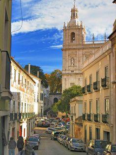 Igreja de São Vicente de Fora Portugal, Travel Around The World, Around The Worlds, Iron Balcony, Famous Places, Back In Time, The Neighbourhood, Survival, Europe