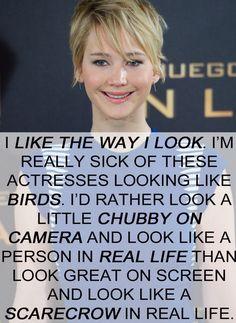 Cuando dijo esto y todo el mundo estaba como AAAMÉEEEN JENNIFER. | 22 veces en las que a Jennifer Lawrence no le importó lo que pensase nadie