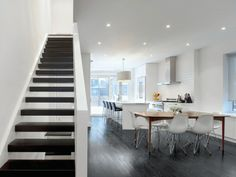 contemporary staircase by Andrew Snow Photography