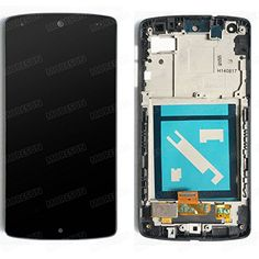 High Quality Full LCD Display Glass Touch Screen Digitizer Assembly Frame Replacement Part for Lg Google Nexus 5 D820 D821 * You can get additional details at the affiliate link Amazon.com.