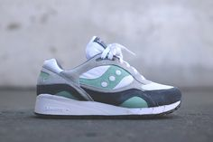 Saucony Shadow 6000 WHITE/Mint