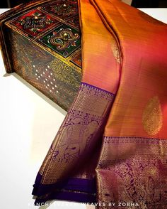 Each Saree Is Sculpted For You And No One Else. Visit Our Store To Purchase Designer Silk Sarees For Your Special Events Located At No… Indian Bridal Sarees, Wedding Silk Saree, Indian Silk Sarees, Wedding Saree Blouse Designs, Pattu Saree Blouse Designs, Kanjipuram Saree, Saree Dress, Silk Saree Kanchipuram, Banarasi Sarees