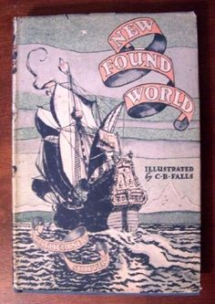 1946 Newbery Honor New found world by Katherine Binney Shippen http://www.amazon.com/dp/B0007ES7PE/ref=cm_sw_r_pi_dp_UWQhub1CCMJCJ