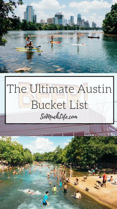 The ultimate Austin bucket list! More than 50 things to do in Austin, rain or shine! | best food in Austin, fun stuff in Austin, Austin music, best tacos in Austin, Austin breweries, visit Austin Texas