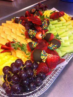 Fancy fruit tray
