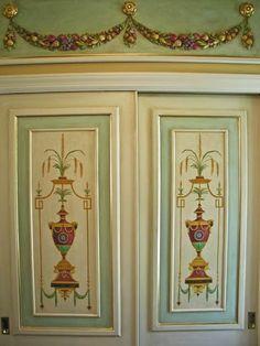 Pine Street Studios > Neoclassical Rooms: Vestibule: Doors