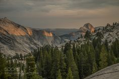 An Evening at Olmstead Point - Part 3 by douglasscrima