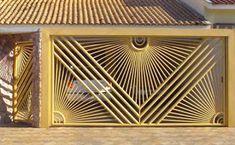 Door Grill, Grill Design, Iron Furniture, Steel Doors, Fence Gate, Door Design, Garden Gates, Steel Gate Design, Porta Principal
