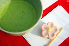 #wagashi #greentea