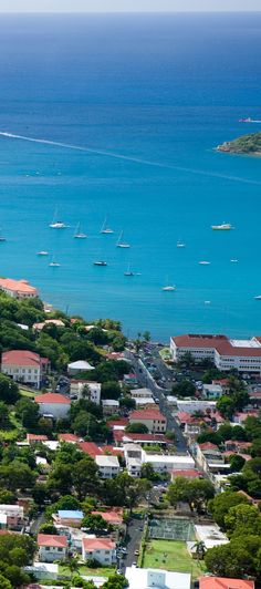 St. Thomas, USVI | The capital and largest city in the Virgin Islands, Charlotte Amalie is home to unique aspects such as cobblestone alleyways, antique West Indian furnishings, 17th century Danish fortifications, and more.