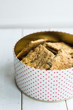 grove knækbrød Dog Bowls, Cereal, Breakfast, Recipes, Morning Coffee, Recipies, Recipe, Corn Flakes