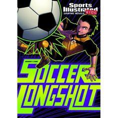 Soccer Longshot. Novela gráfica para niños a partir de 8 años.