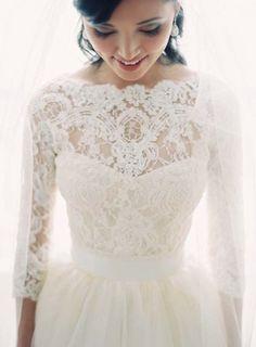 Wedding dress idea; Featured Photographer: Clary Pfeiffer Photography
