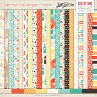 Summer Pop Shoppe Papers