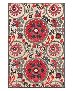 Suzani Rugs - Suzani Pattern - House Beautiful